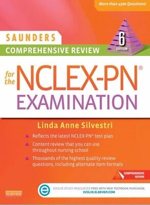 Saunders Comprehensive Review for the NCLEX-PN, 6th
