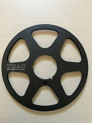 Reel to Reel 10.5 inch black metal TEAC genuine take up reel