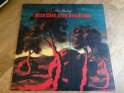 Nick Cave 2x LP The Best of 1998 Mute 1st press & Insert +++++