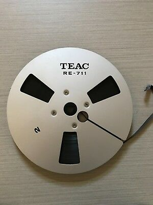 Reel to Reel 7 inch genuine TEAC metal reel