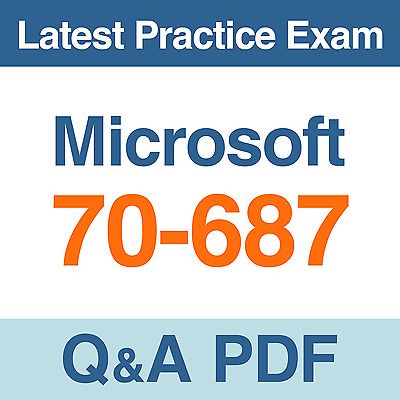 Microsoft Practice Test 70-687 Configuring Windows 8.1 Exam Q&A PDF