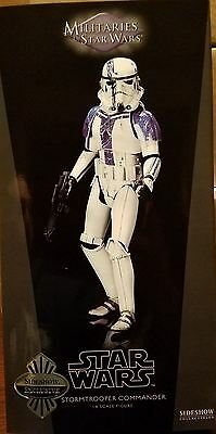 "Sideshow Exclusive Star Wars Stormtrooper Commander Sixth Scale 1/6 12"" Figure"