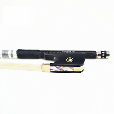 BRAND NEW 4/4 Size Carbon Fiber Viola Bow Sweet Tone for Professional Player