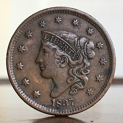 USA America, Large Cent, 1837.