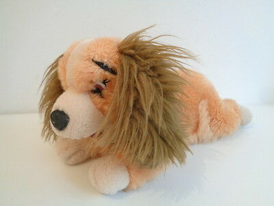 "Lady And The Tramp - Lady Spaniel Dog Soft Toy - 10"" Long - Disney Store"