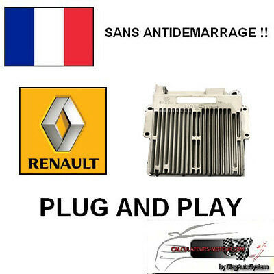 SANS ANTIDEMARRAGE !! Calculateur Sagem SAFIR 35 Pins Renault 1.2I 7700104483 !