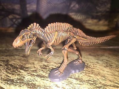 Japan Dinosaur Kaiyodo Acrocanthosaurus skeleton Mini Figure Super Rare
