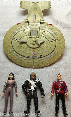 Star Trek Figuren + Raumschiff NCC 1701 Lose