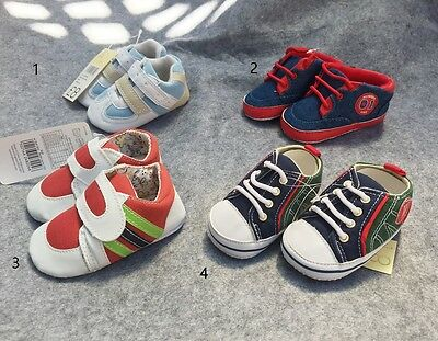 NEW Baby Boy Pre-walkers Pram Shoes Size 0-6 months *assorted* SALE