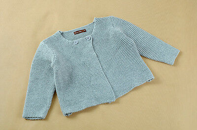 NEW Baby Infant Kids Girls Cotton Knit Jacket Cardigan size 9m.12M.18M.24M.3