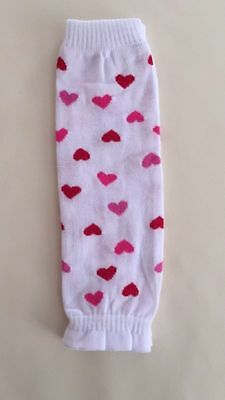 NEW Baby Infant Toddler Girl Sweet Heart Leg Warmers, 0-5 years
