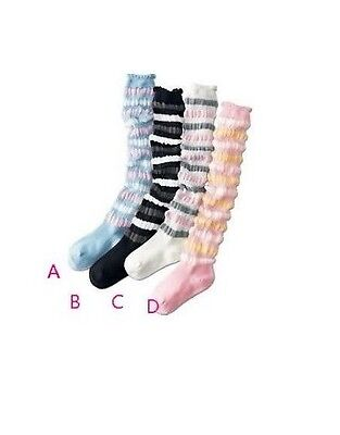 Kids/Girls/Teen. Loose/Baggy Socks ✿Wear it Long or Short ✿ approx 3-7 years