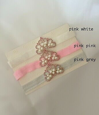 NEW Baby Girl Princess Angel Tiara Crown Headband for Photo Prop 0-12 months