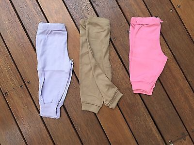 NEW Baby Girl Boy Everyday Cotton Pants Size 0-3-6-12-18-24 months
