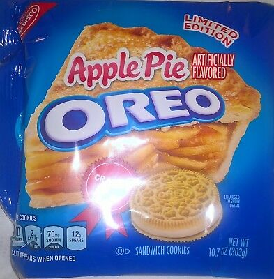 LIMITED EDITION Apple Pie OREO Sandwich Cookies Graham Flavoured USA Import 303g