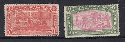 SG371 & 373 Christchurch Exhibition MNH & MNG