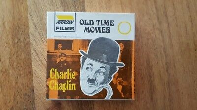 "Arrow Films ""Standard 8"" Black & White Charlie Chaplin in ""police"""