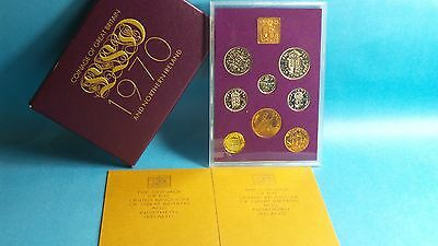1970 United Kingdom Official Proof Coin Collection