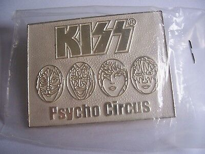 Kiss Psycho Circus Promotional Hard Rock Cafe Pin Rare Never For Sale stick pick