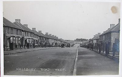 Halsbury Road West Greenford Middlesex Early Rp Pc
