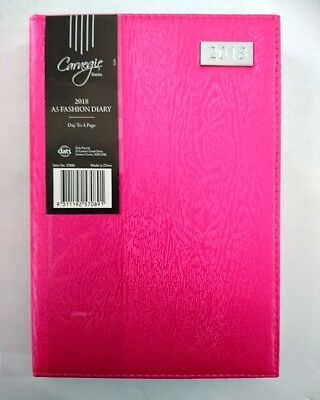 2018 Diary Fancy Cover A5 Day To Page Women's Diary Day To An Opening A5-Pink