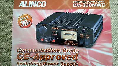 Alinco DM-330MWII Mk2 30Amp Power Supply Boxed New