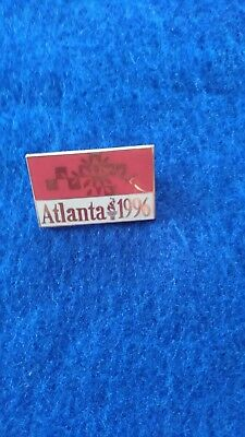 ATLANTA Olympics 1996 Metal enamel pin/badge