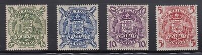 Arms 5s to £2 - SG224a-d Mint