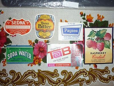 Collectable  imperial labels -  Set of 6 assorted imperial labels MINT