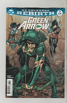 Green Arrow #3 (2016) 1St Printing Dc Comics