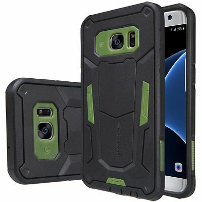 Galaxy S7 Edge Case,[Fight Like A Defender] Maximum Drop Protection Scratch Dus