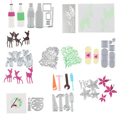 Metal Cutting Dies Stencil DIY Scrapbooking Album Paper Card Embossing Cover 1Pc
