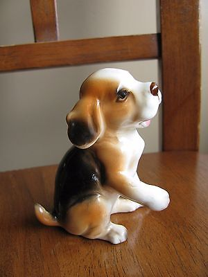 Vintage George Good Japan BEAGLE dog figurine in EXCELLENT Condition