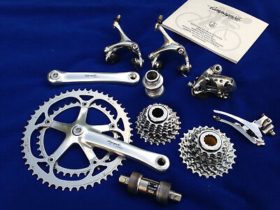Campagnolo Athena Chorus 9 speed complete group set vintage gruppo vgc 1st owner