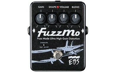 EBS Fuzzmo Fuzz Effect Pedal For Bass