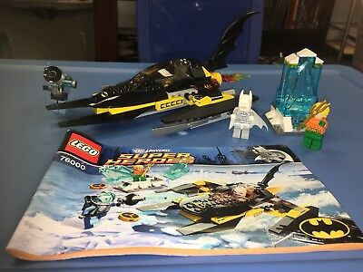 LEGO Super Heroes Arctic Batman vs. Mr. Freeze Aquaman on Ice 76000 ...