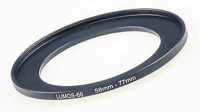 LUMOS Filter Adapter Step up ring Adapter Ring 58-77 mm step up ring adapter