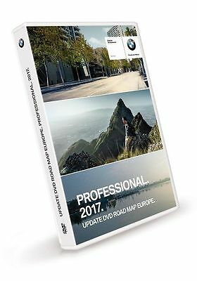Bmw Road Map Europe 2017 (Professional 3 DVD) / (High+Firmware V32.2 -2 DVD+1CD)
