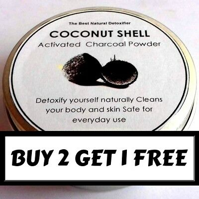 Natural Whitening Tooth & Gum Powder w/Activated Charcoal