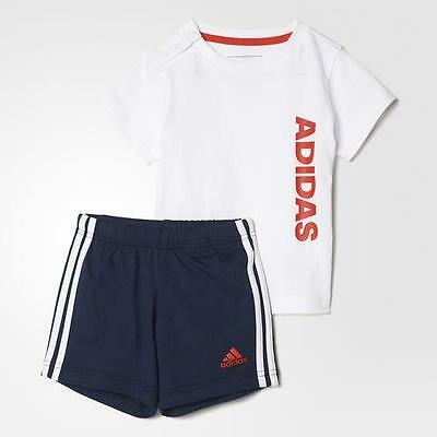 Adidas Set Sum Linea Infant - White/blue - Bp5318