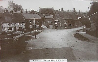 Down Town Hook Norton Oxfordshire Early Rp Pc