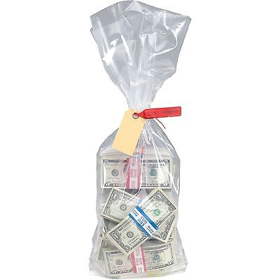 MMF Industries Currency Deposit Bags 12 X 20 Clear 100/box 206410520