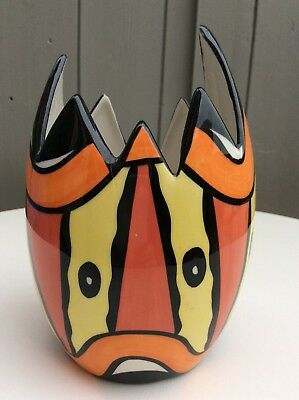 Lorna Bailey RARE Art Deco Easter Vase Limited Edition of only 50