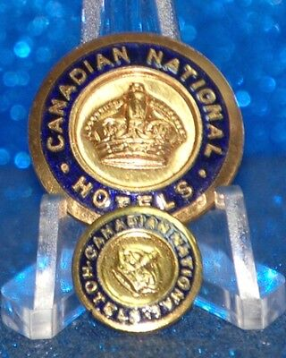 Canada - Canadian National Hotels Uniform Buttons