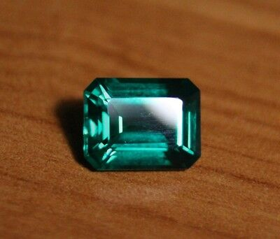 3.58ct Chatham Emerald - Beautiful Flawless Custom Cut Gem No.2