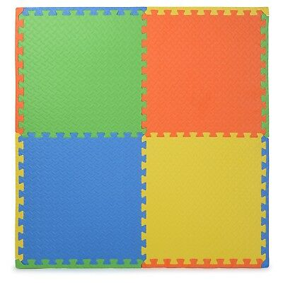 Eva Soft Foam Floor Play mats Interlocking Tiles Children Kids Nursery Puzzle