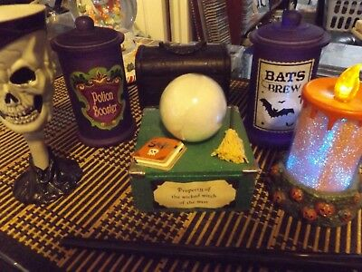wicked witch of the west/spell making prop set.