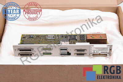 6Sn1118-0Dm11-0Aa1 Version C Control Block Simodrive Siemens 12M Warranty Id5575