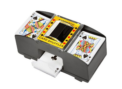 Trademark Innovations Card Deck Automatic Shuffler