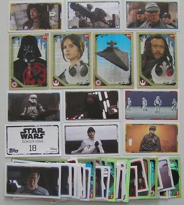 Star Wars Rogue One Topps Stickers (2106) A